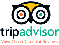 Tripadvisor link to Chalet Chocolat, La Plagne