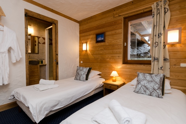 Bedroom in Chalet Chamois, La Plagne