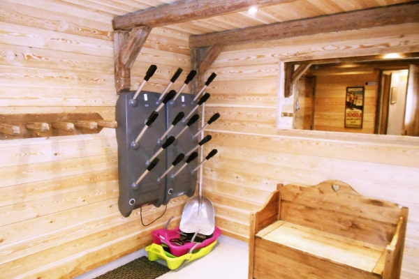 Bootroom at Chalet Chamois, La Plagne