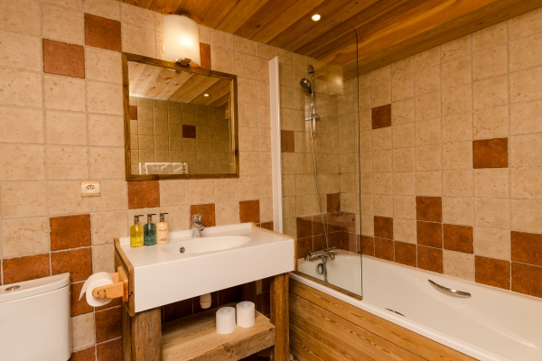 Bathroom in Chalet Chamois, La Plagne