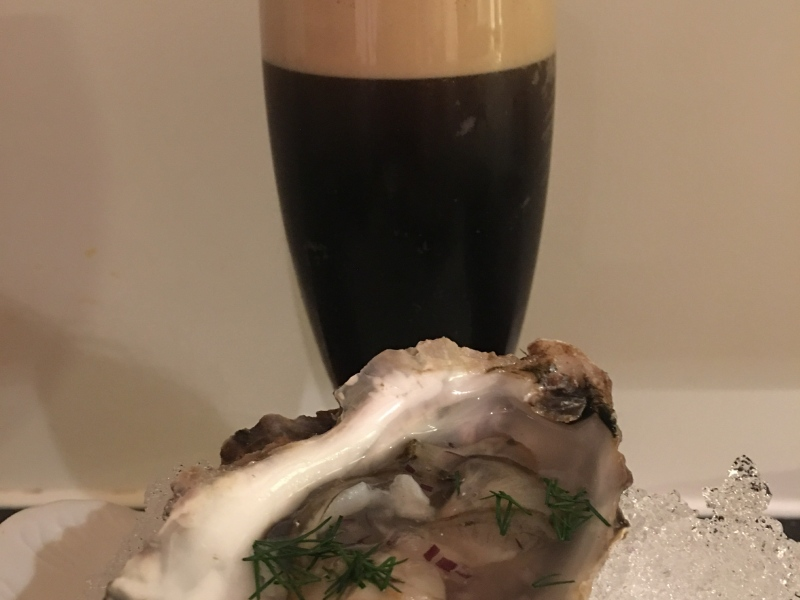 FOOD5 Guinness and Oysters
