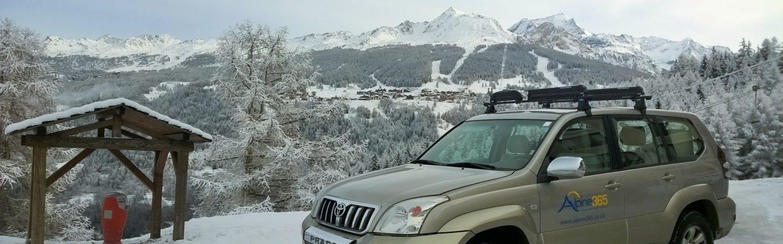 Alpine365 van in Les Coches, La Plagne