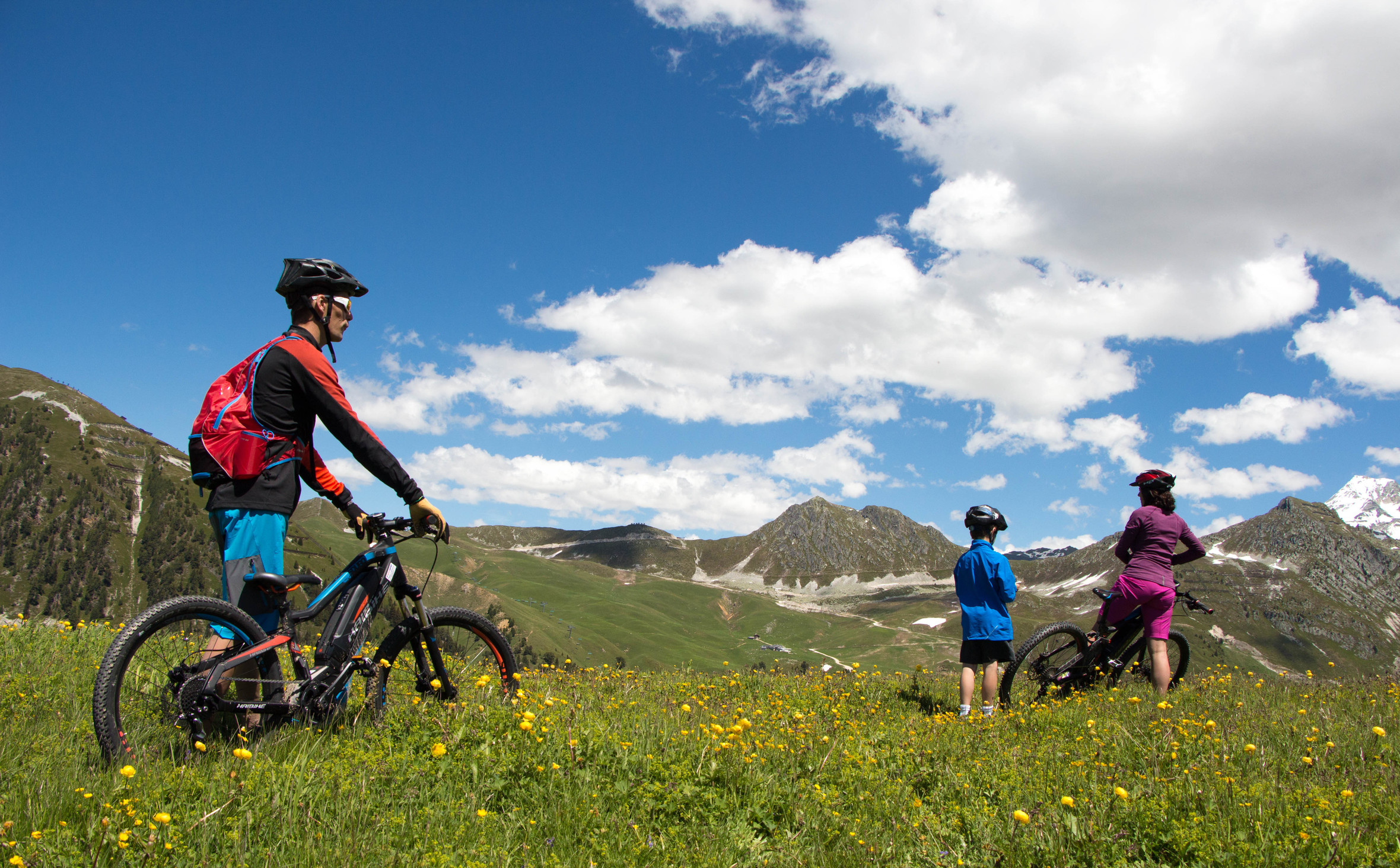 Mountain biking in Montchavin La Plagne