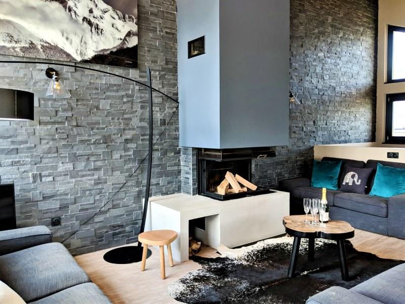 Lounge in Chalet Husky, La Plagne