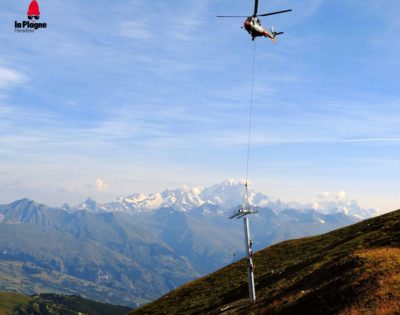 New Inversens Chairlift coming to La Plagne
