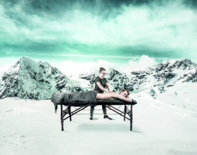 Massages… dans le confort de votre chalet