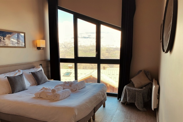 Chalet Bluebird Bedroom